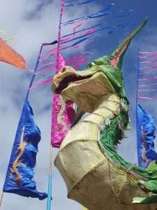 Dragon de tentes