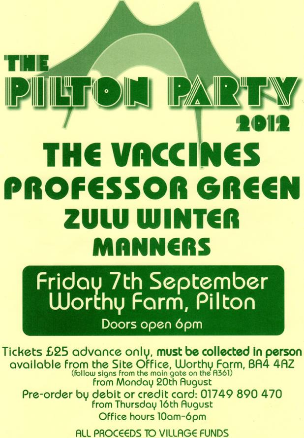 Pilton Party 2012