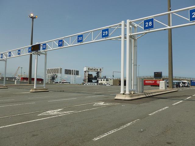 Terminal de ferry Calais