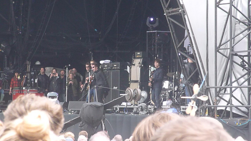 Concert surprise de Beady Eye à l'Other Stage