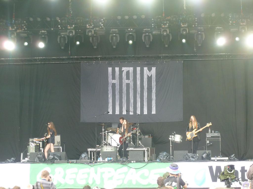 Haim, Pyramid Stage.
