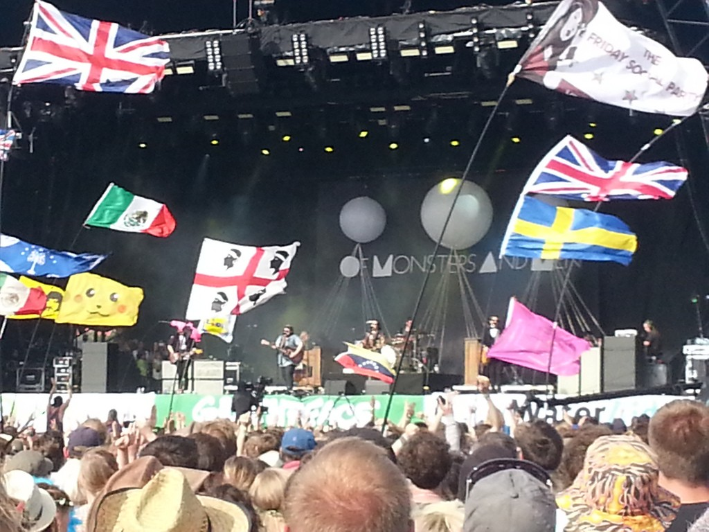 Of Monsters and Men sur l'Other stage.