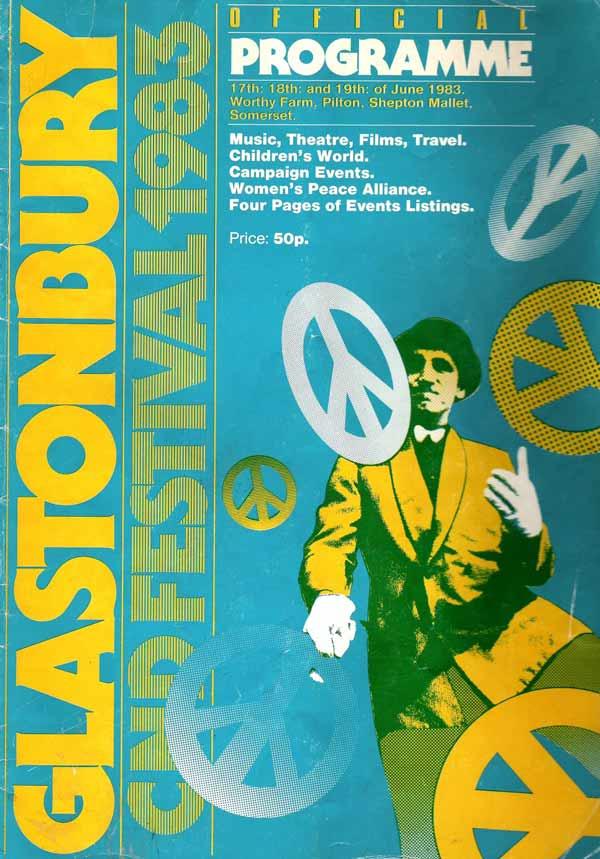 Programme Glastonbury 1983