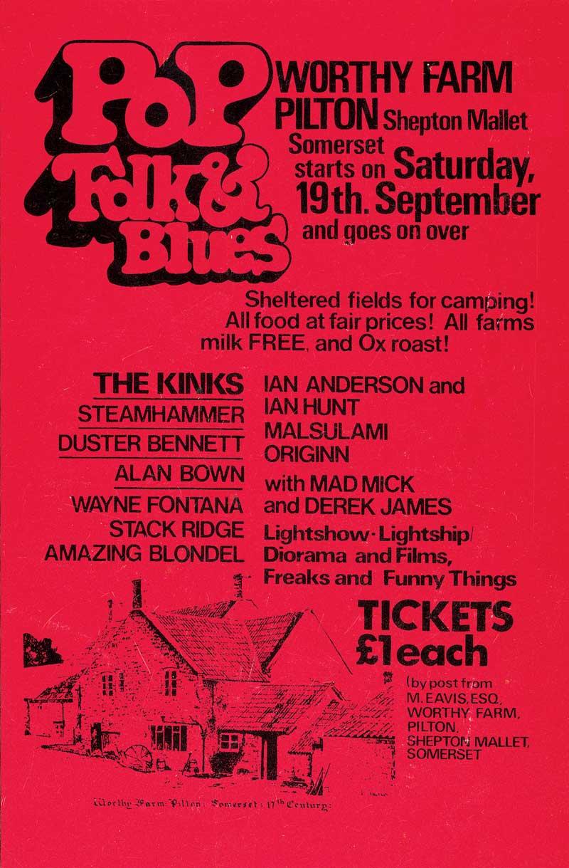 Pilton Pop, Blues & Folk festival
