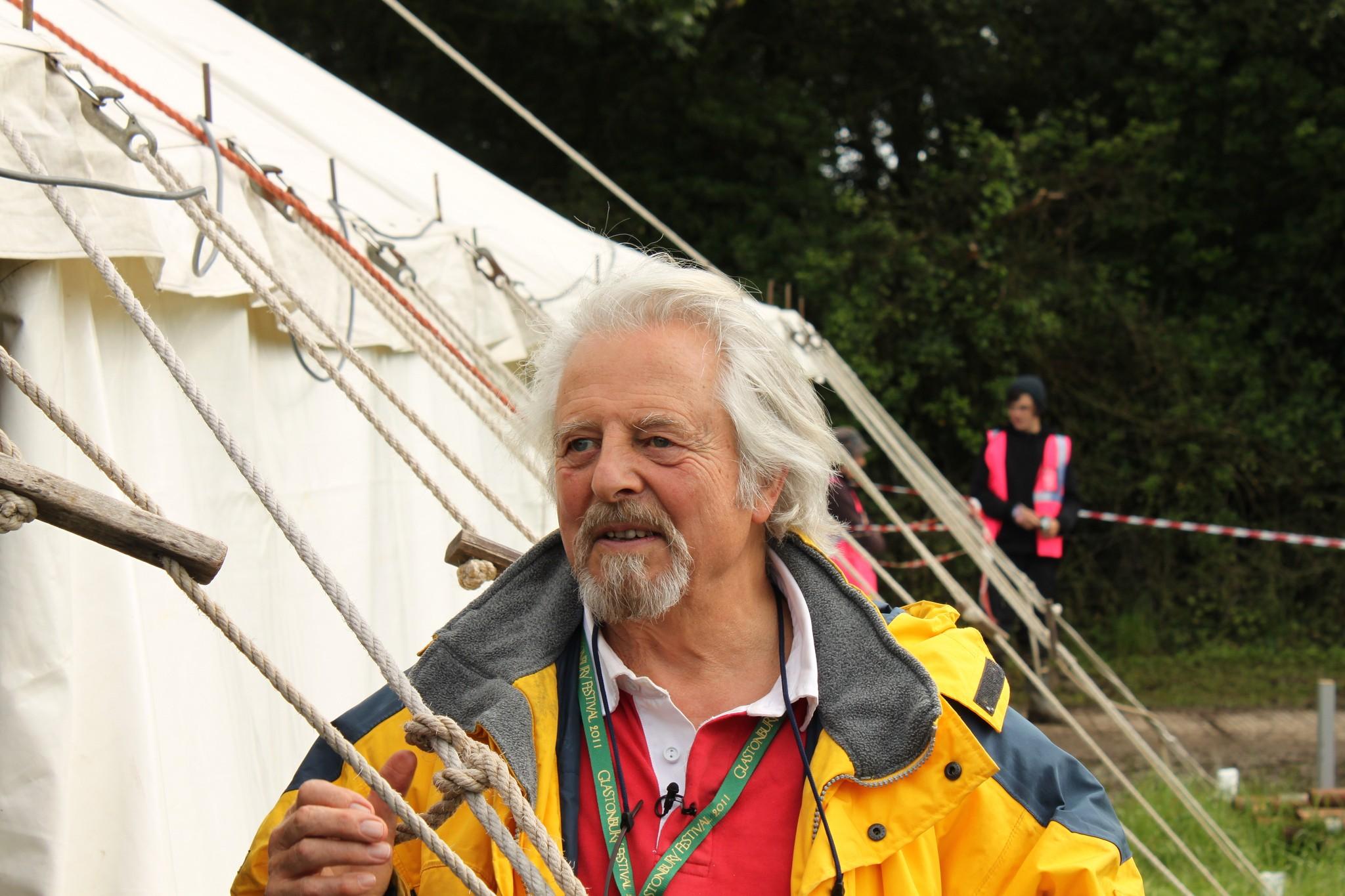 Andrew Kerr à Glastonbury en 2011