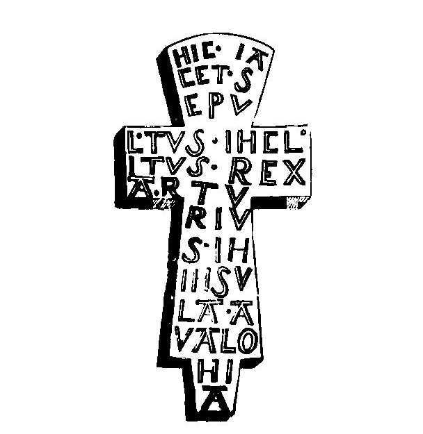 Croix de la tombe du roir Arthur
