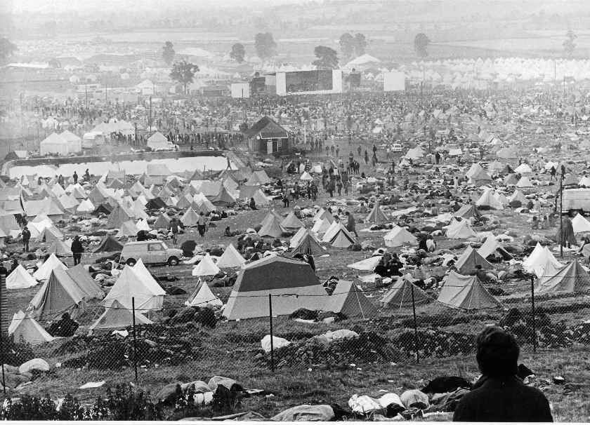 vue du festival 1970
