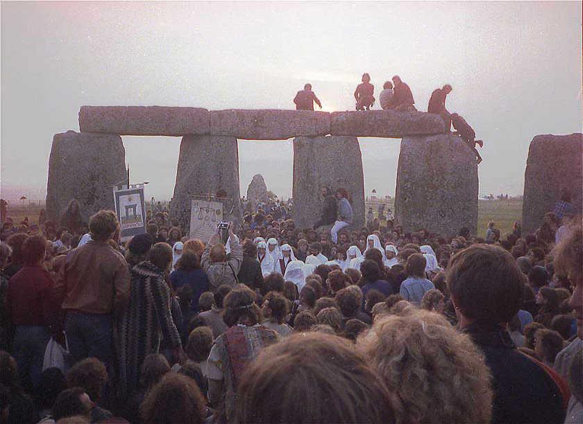 free festival de Stonehenge