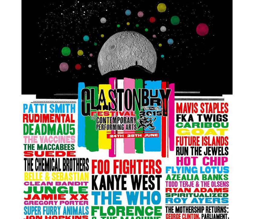 Affiche Glastonbury 2015