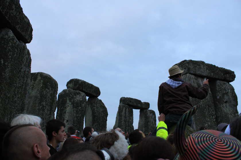Solstice Stonehenge 2011