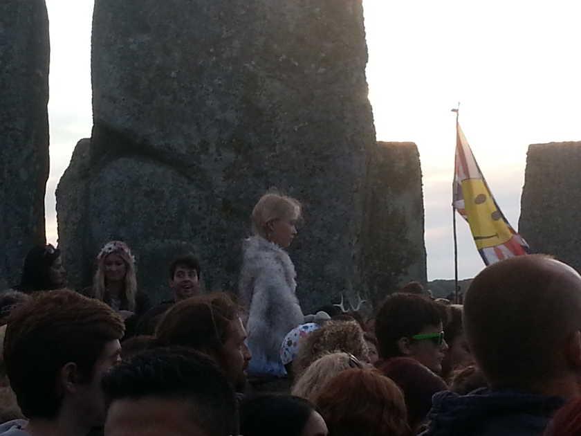Stonehenge Solstice été 2016