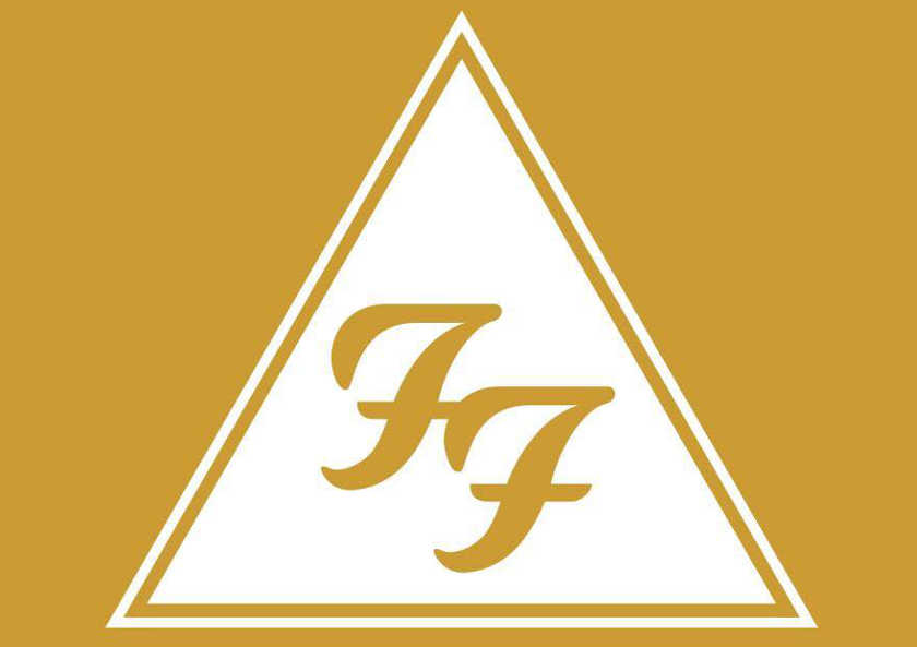 Logo Foo Fighters pyramide