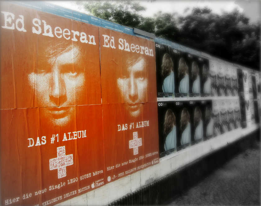 Affiches Ed Sheeran