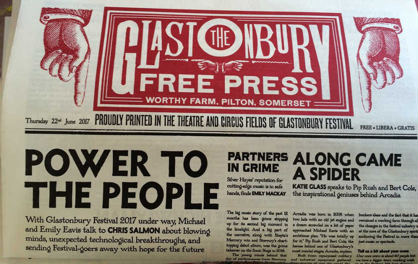 Journal de la GlastonBury Free Press