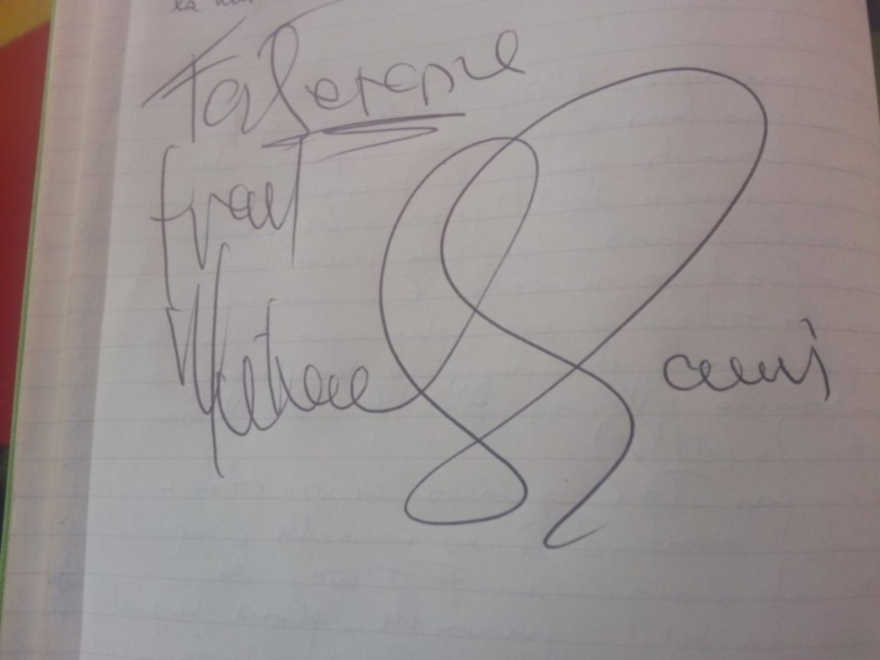 Autographe Michael Eavis