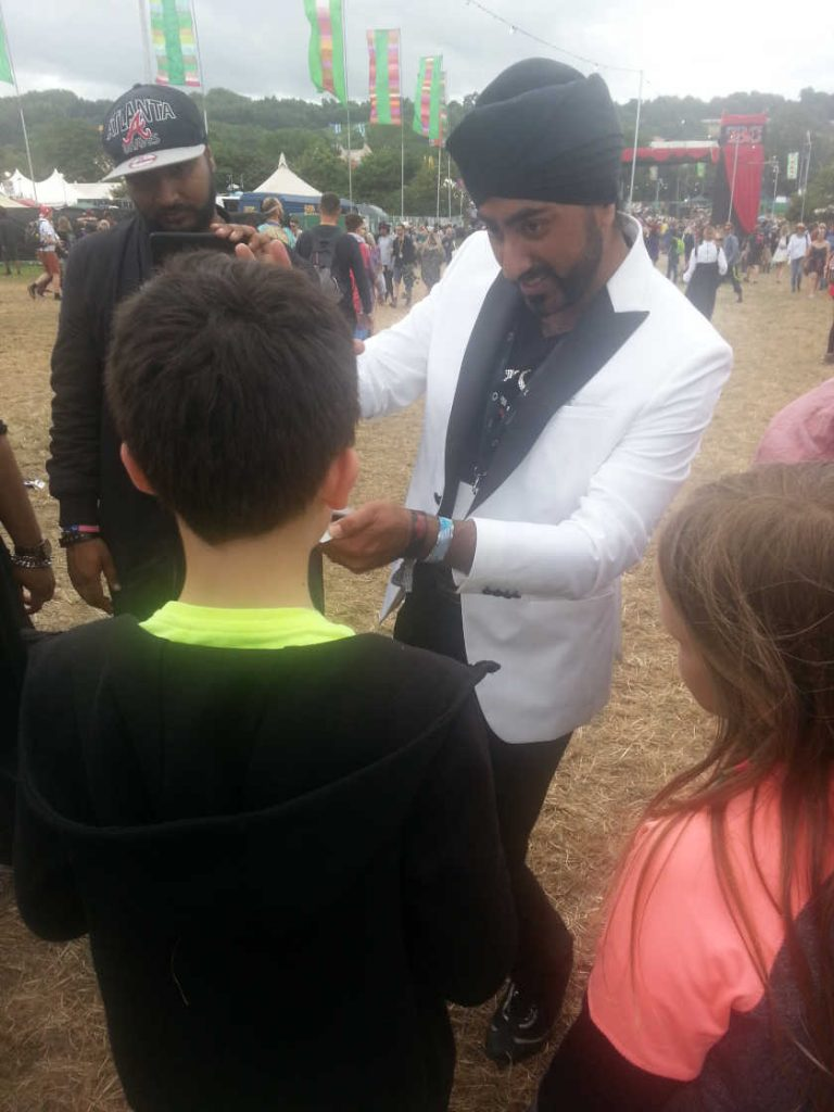 Magic Singh Glastonbury 2017