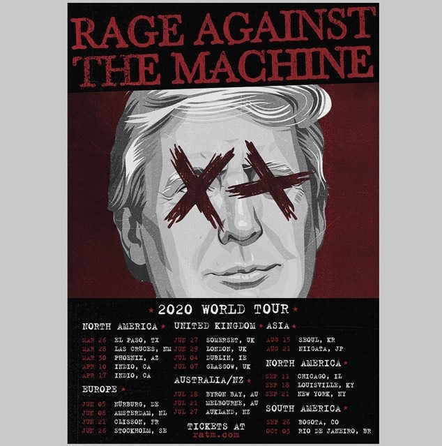Rage Against The Machine Fake Poster