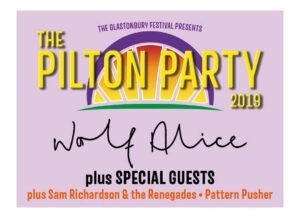 Read more about the article Pilton Party?