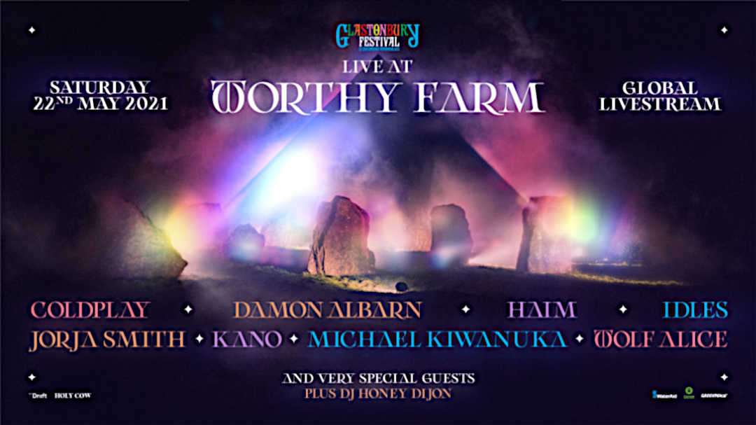 Affiche Live at Worthy Farm